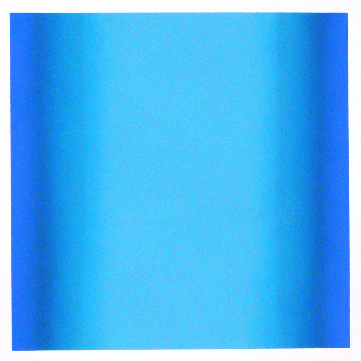Cool-Light Cobalt-Ultramarine, Interplay Series, 2012, pastel on paper, image: 14 x 14 in. (36 x 36 cm.), sheet: 30 x 22 in. (76 x 56 cm.)