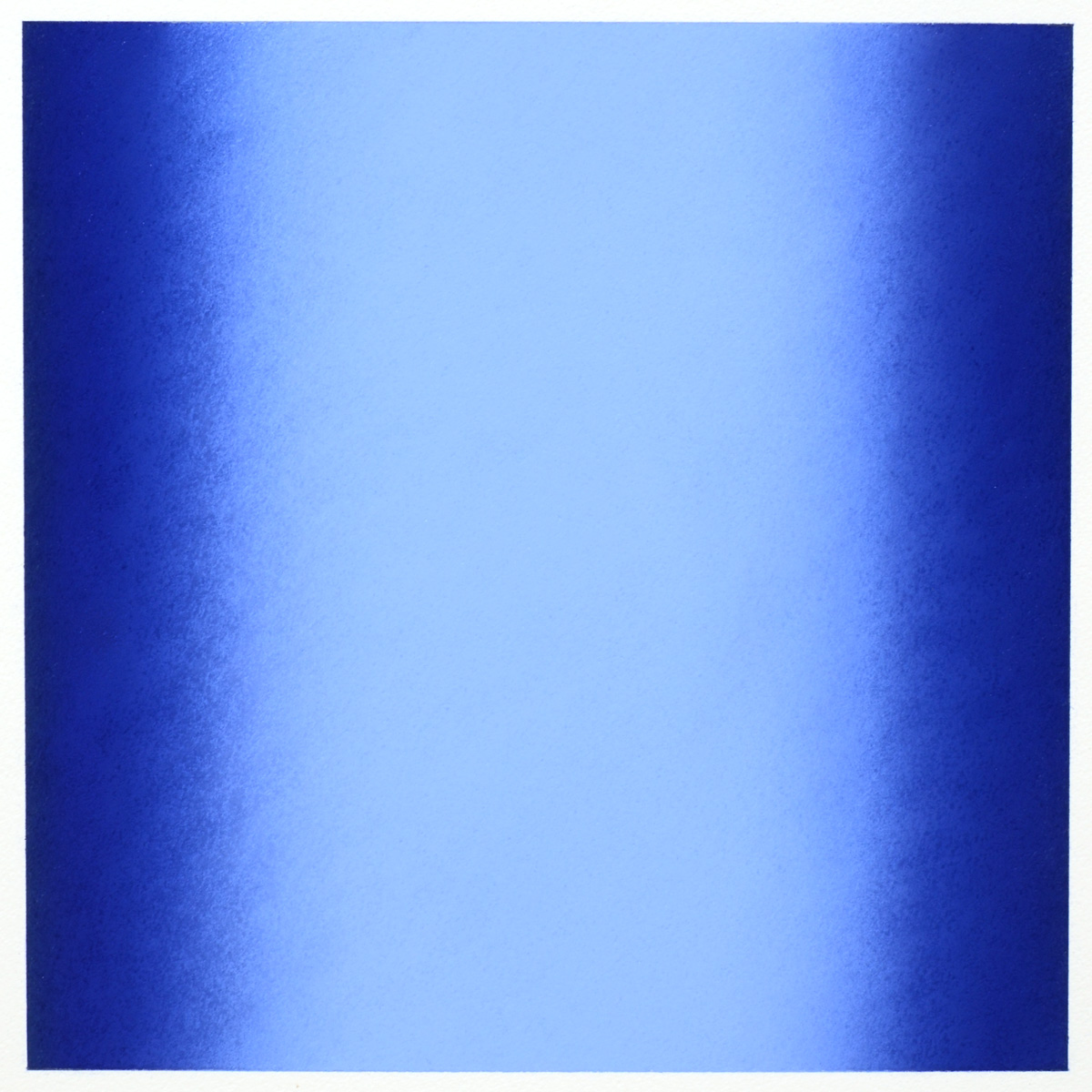 Blue (Light), Primary Red Blue Series, 2011, pastel on paper, image: 14 x 14 in. (36 x 36 cm.), sheet: 30 x 22 in. (76 x 56 cm.)