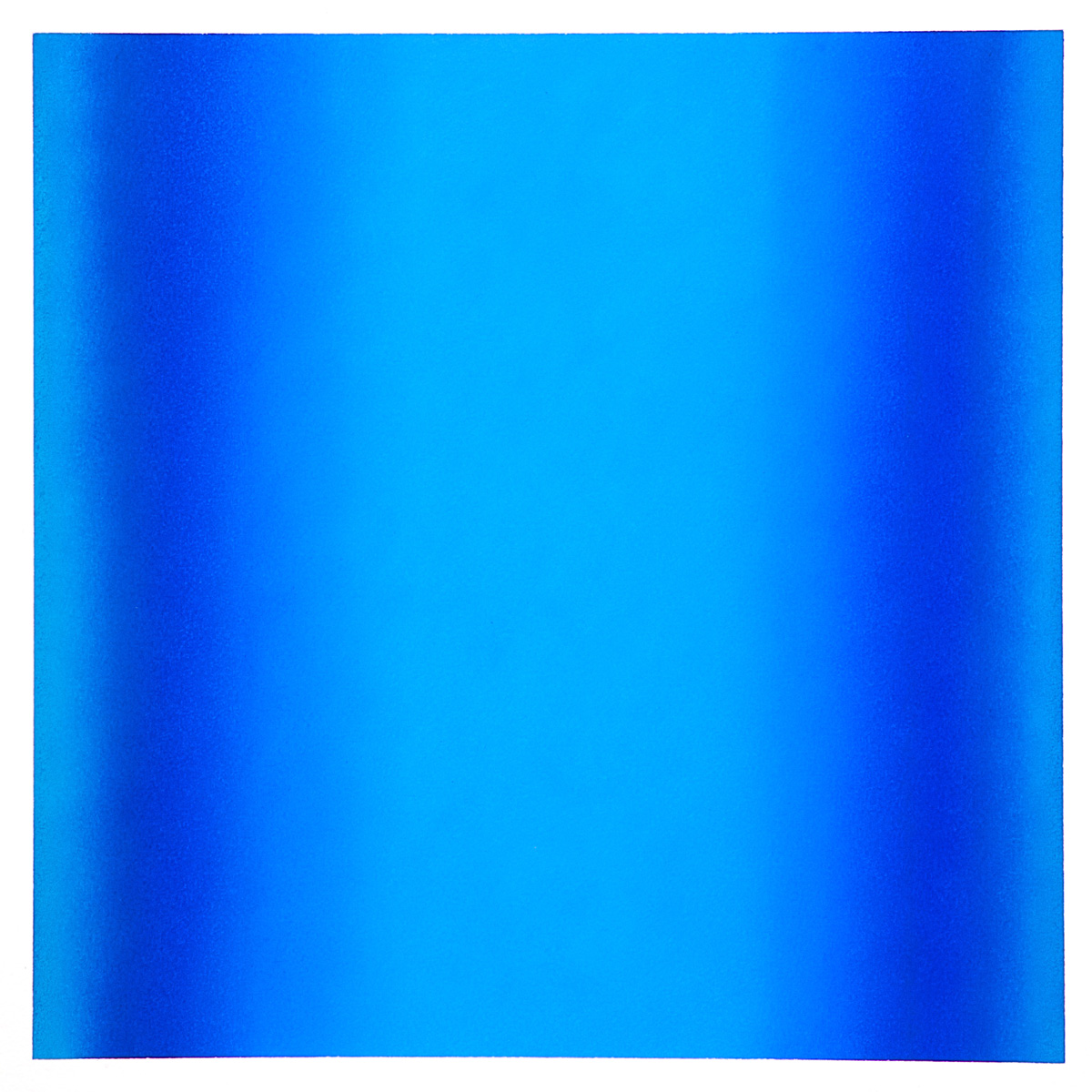 Cool-Light Prussian-Ultramarine, Interplay Series, 2012, pastel on paper, image: 14 x 14 in. (36 x 36 cm.), sheet: 30 x 22 in. (76 x 56 cm.)