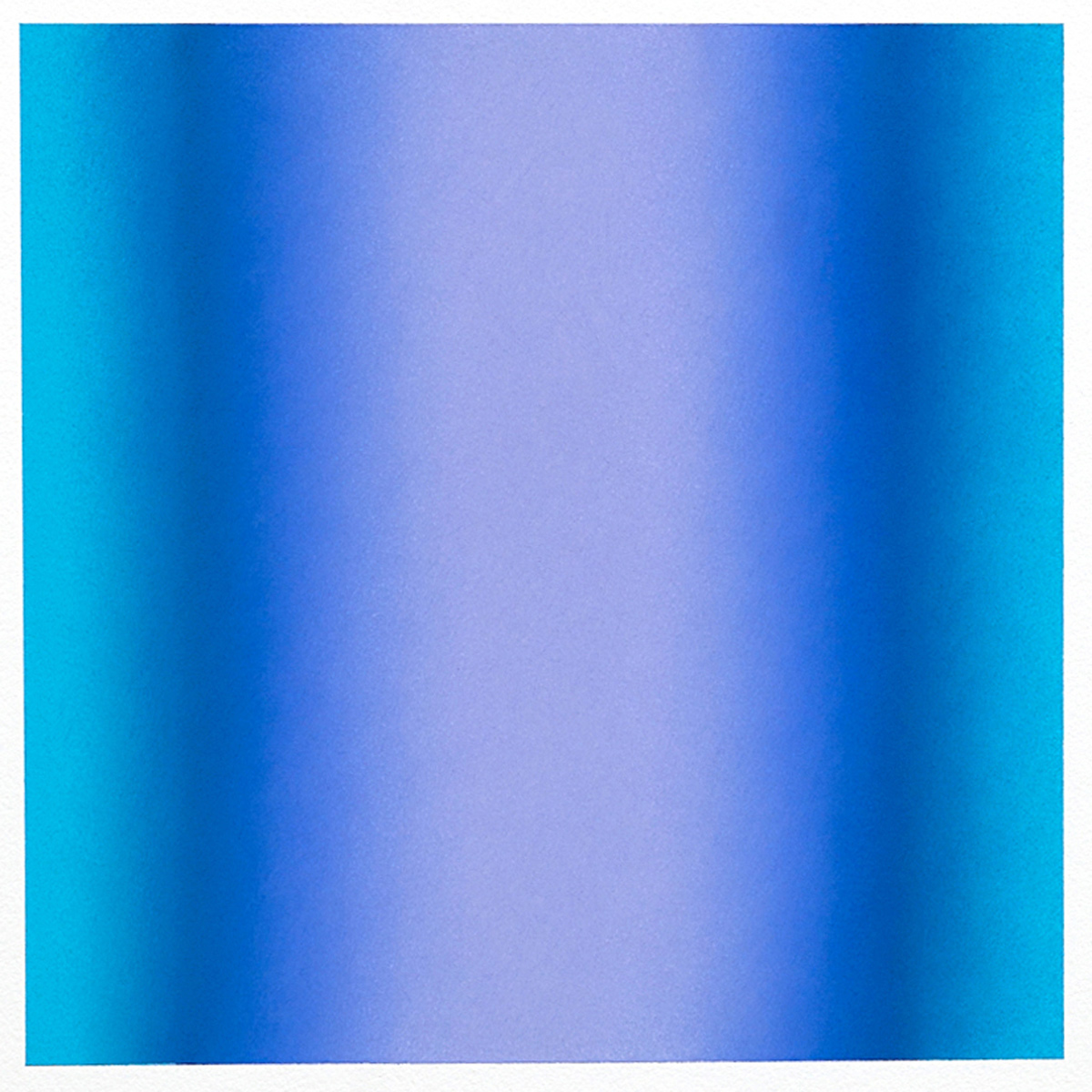 Cool-Light Blue-Violet, Warm-Light Cool-Light Series, 2012, pastel on paper, image: 14 x 14 in. (36 x 36 cm.), sheet: 30 x 22 in. (76 x 56 cm.)