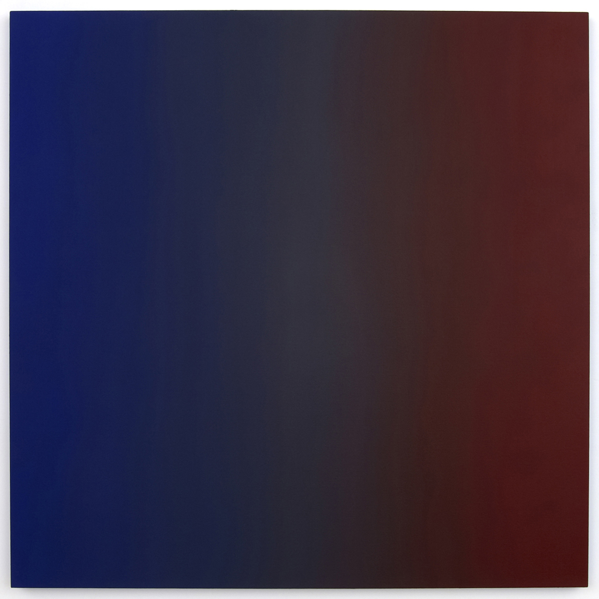 Imperial (Red Blue), Phase & Shifting Gray Series, 2008, oil on canvas, 48 x 48 in. (122 x 122 cm.)