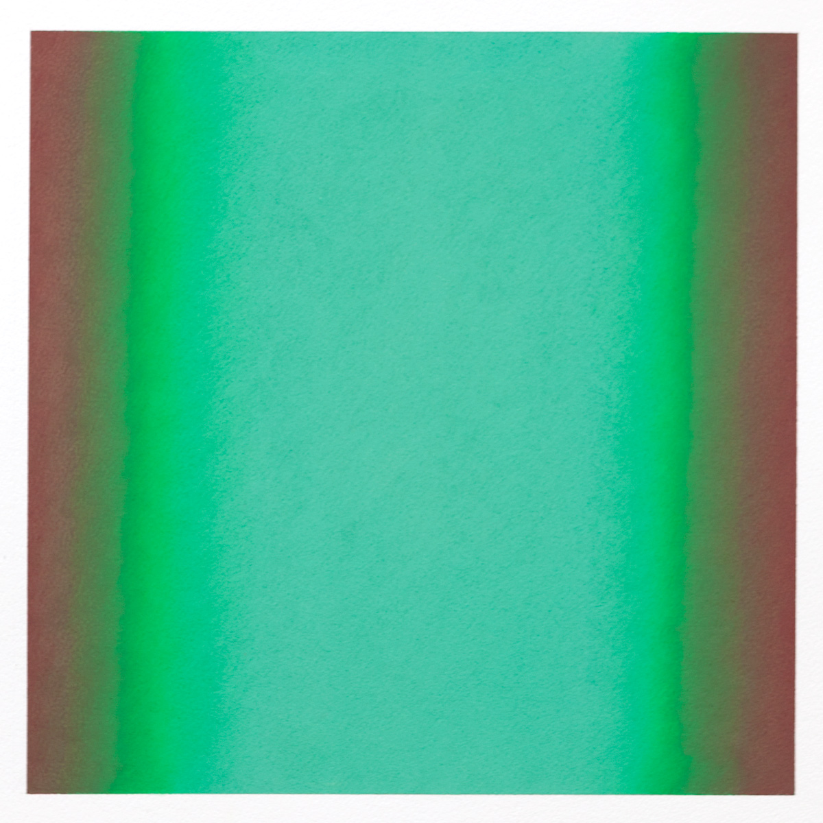 Counterpoint #15, 2012, pastel on paper, image 14 x 14 in. (36 x 36 cm.), sheet 30 x 22 in. (76 x 56 cm.)