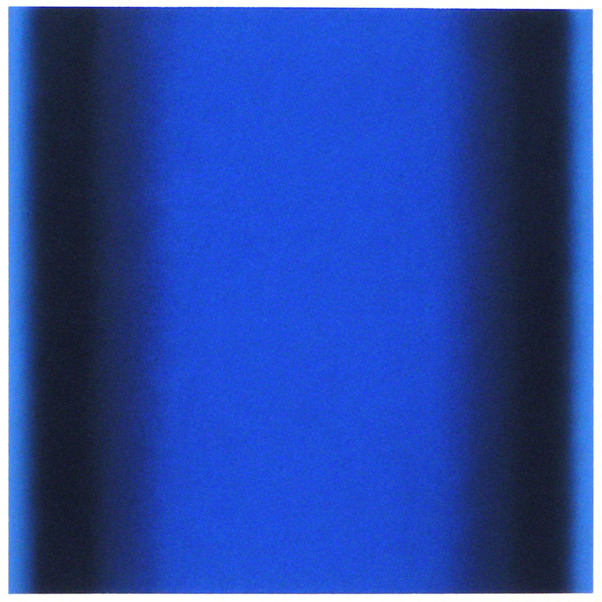 Cool-Light Ultramarine-Delft-Prussian, Interplay Series, 2012, pastel on paper, image: 14 x 14 in. (36 x 36 cm.), sheet: 30 x 22 in. (76 x 56 cm.)