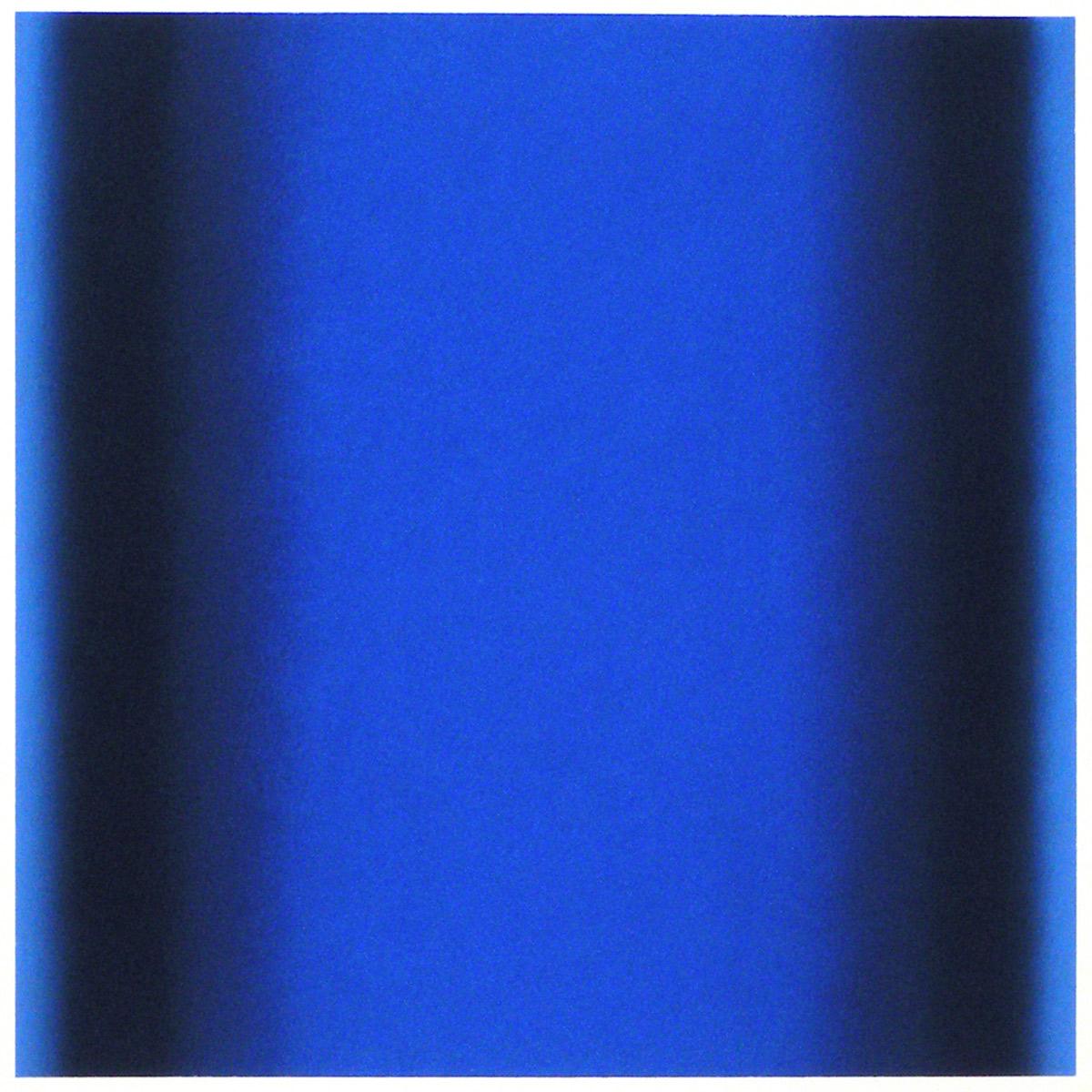 Cool-Light Ultramarine-Delft-Prussian, Interplay Series, 2012, pastel on paper, image: 14 x 14 in. (36 x 36 cm.), sheet: 30 x 22 in. (76 x 56 cm.)
