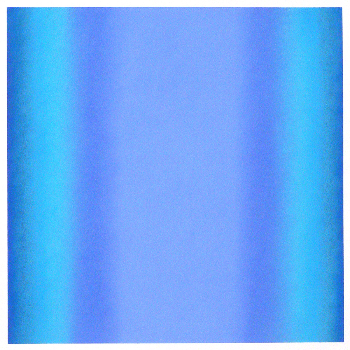 Cool-Light Ultramarine-Cobalt, Warm-Light Cool-Light Series, 2012, pastel on paper, image: 14 x 14 in. (36 x 36 cm.), sheet: 30 x 22 in. (76 x 56 cm.)