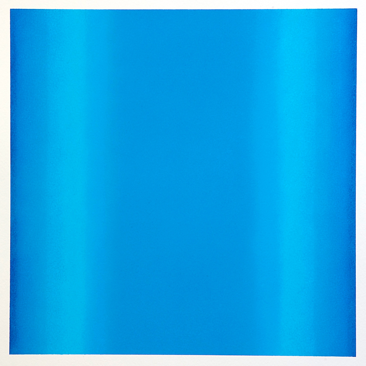 Counterpoint #33, 2012, pastel on paper, image 14 x 14 in. (36 x 36 cm.), sheet 30 x 22 in. (76 x 56 cm.)