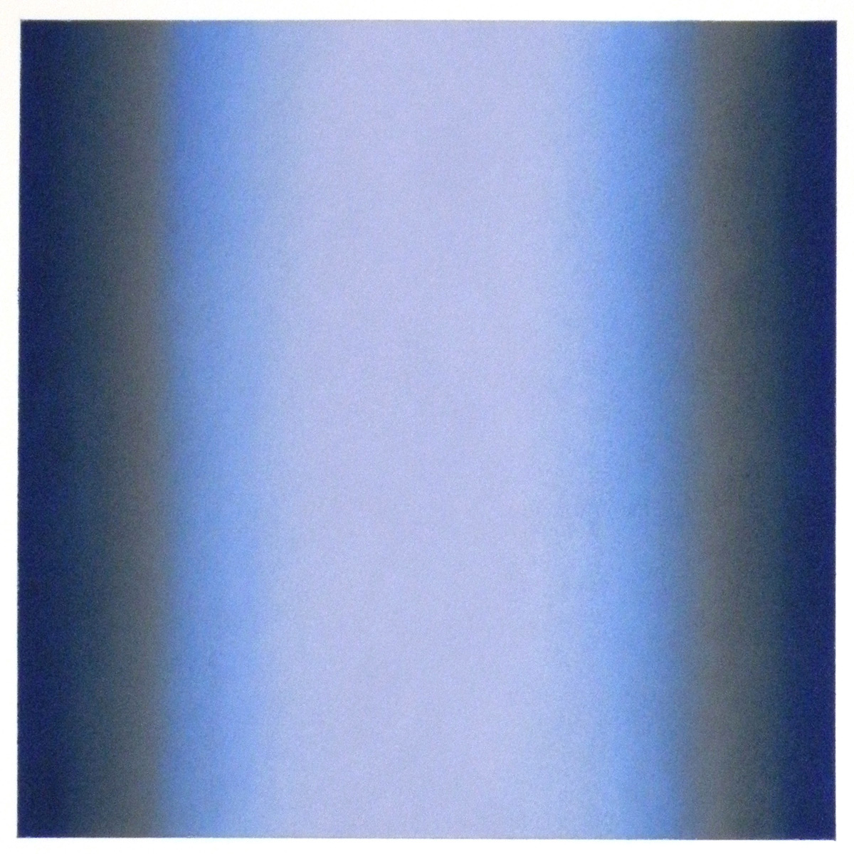 Cool-Light Blue-Prussian, Warm-Light Cool-Light Series, 2012, pastel on paper, image: 14 x 14 in. (36 x 36 cm.), sheet: 30 x 22 in. (76 x 56 cm.)