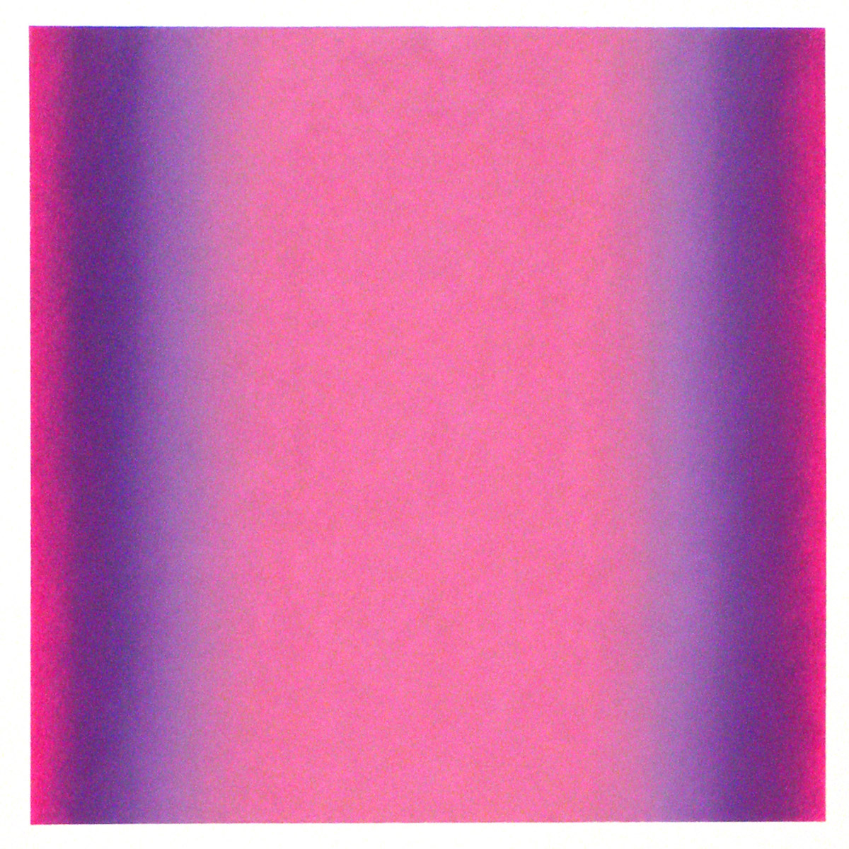 Counterpoint #31, 2012, pastel on paper, image 14 x 14 in. (36 x 36 cm.), sheet 30 x 22 in. (76 x 56 cm.)