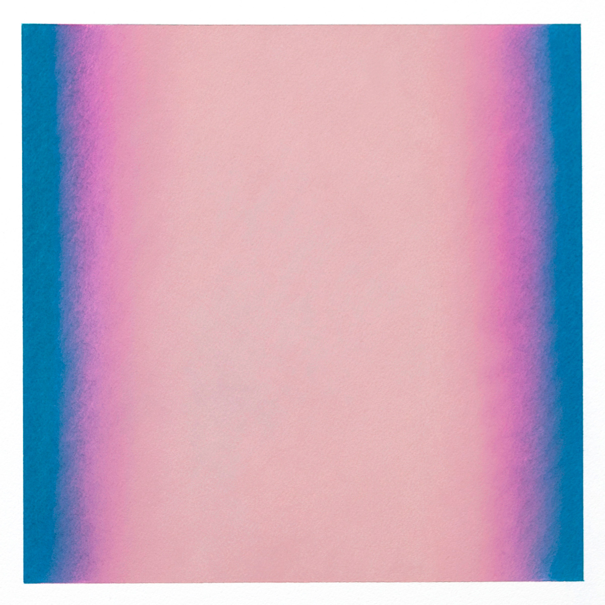 Counterpoint #8, 2012, pastel on paper, image 14 x 14 in. (36 x 36 cm.), sheet 30 x 22 in. (76 x 56 cm.)