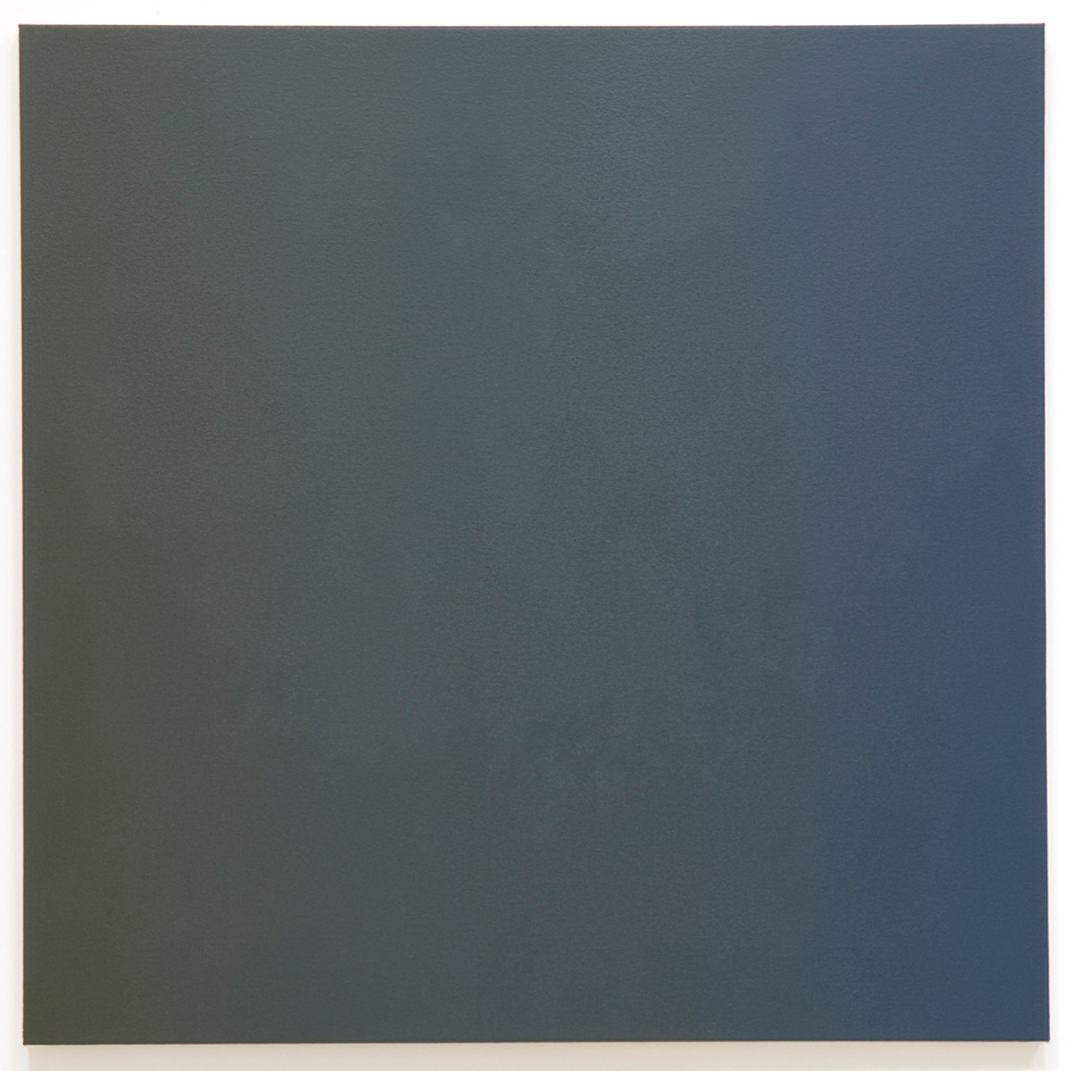 Shifting 3 (Blue Orange), Phase & Shifting Gray Series, 2008, oil on canvas, 40 x 40 in. (102 x 102 cm.)