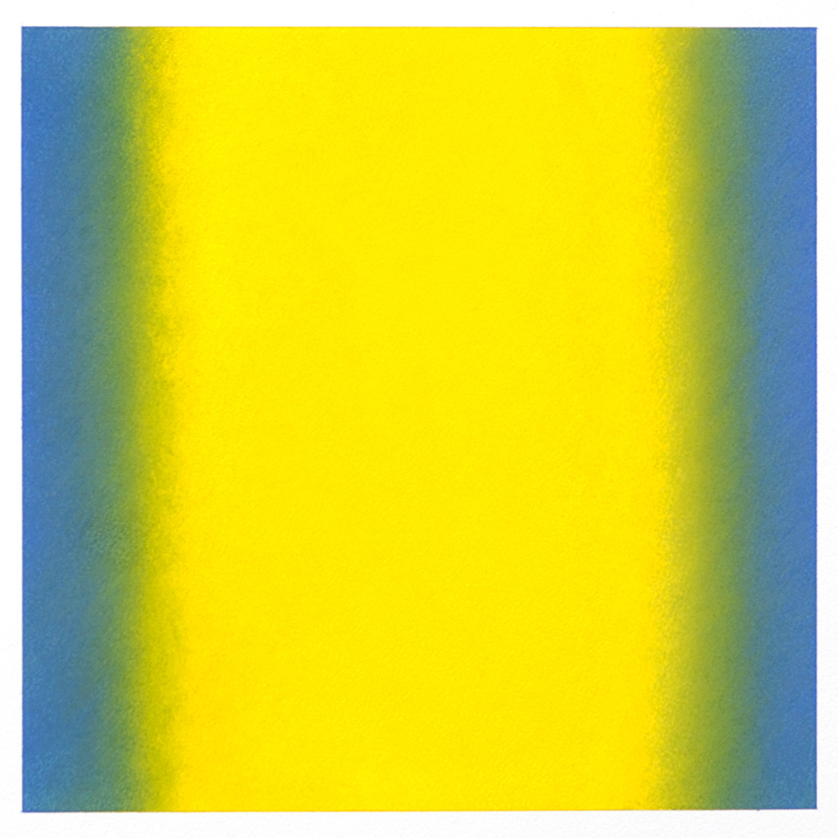 Counterpoint #9, 2012, pastel on paper, image 14 x 14 in. (36 x 36 cm.), sheet 30 x 22 in. (76 x 56 cm.)