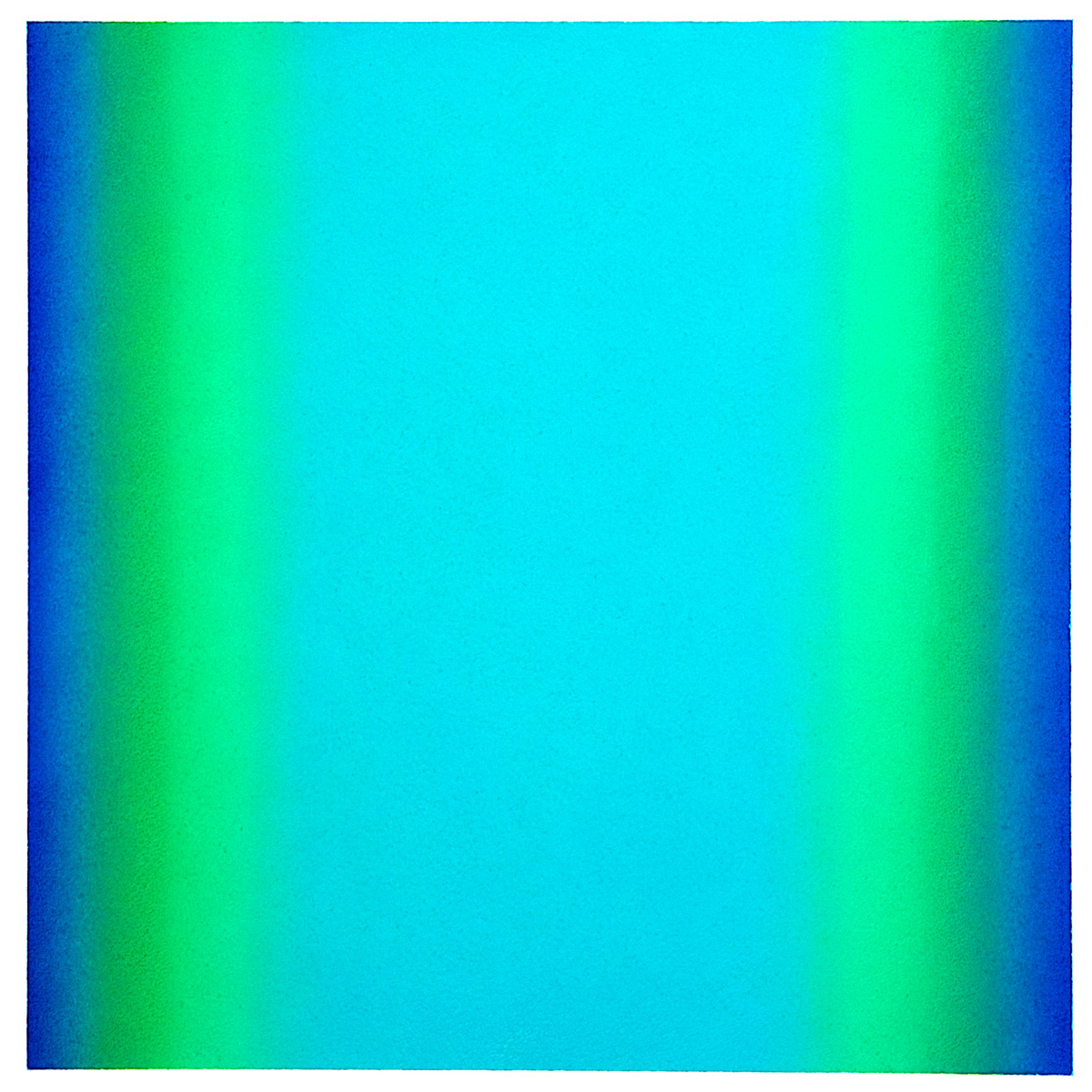 Cool-Light Green-Blue, Warm-Light Cool-Light Series, 2012, pastel on paper, image: 14 x 14 in. (36 x 36 cm.), sheet: 30 x 22 in. (76 x 56 cm.)