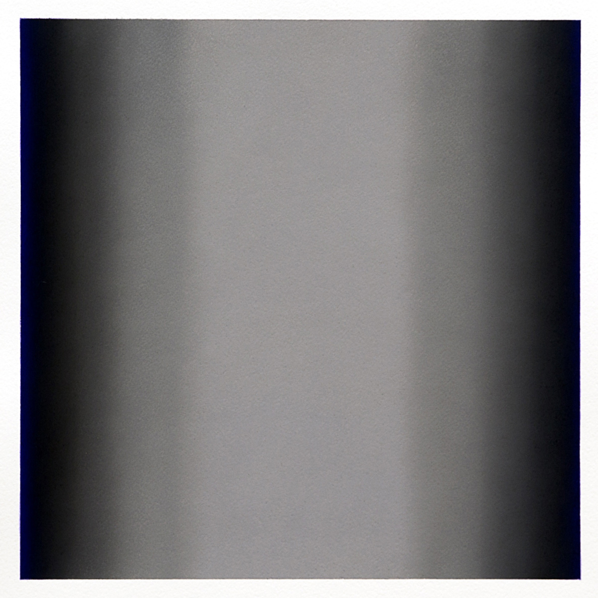 Gray Series #1, 2013, pastel on paper, image 14 x 14 in. (36 x 36 cm.), sheet 30 x 22 in. (76 x 56 cm.)