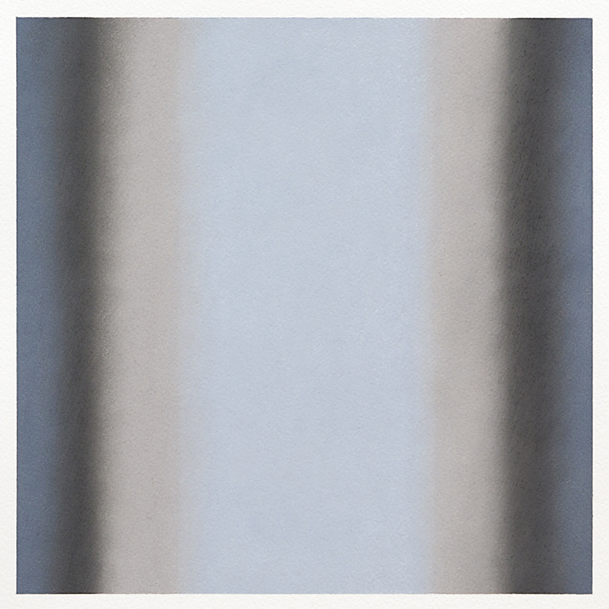 Gray Series #2, 2013, pastel on paper, image 14 x 14 in. (36 x 36 cm.), sheet 30 x 22 in. (76 x 56 cm.)