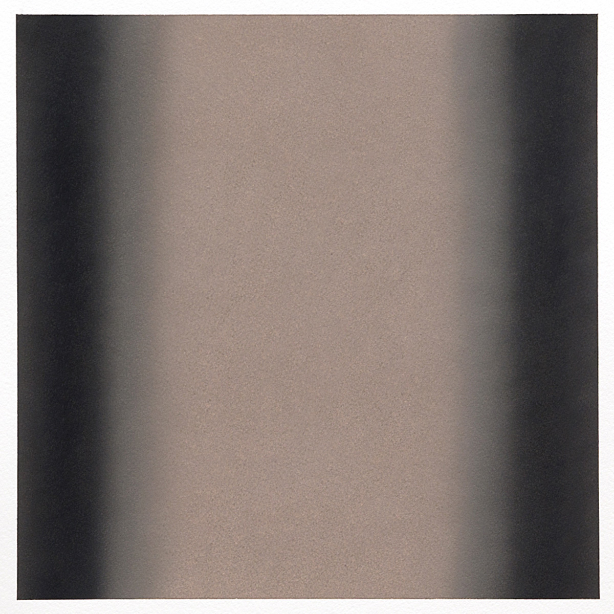 Gray Series #4, 2013, pastel on paper, image 14 x 14 in. (36 x 36 cm.), sheet 30 x 22 in. (76 x 56 cm.)