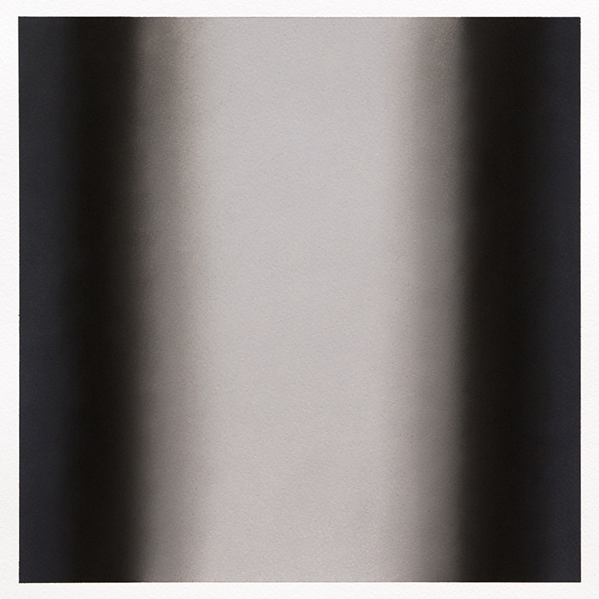 Gray Series #5, 2013, pastel on paper, image 14 x 14 in. (36 x 36 cm.), sheet 30 x 22 in. (76 x 56 cm.)
