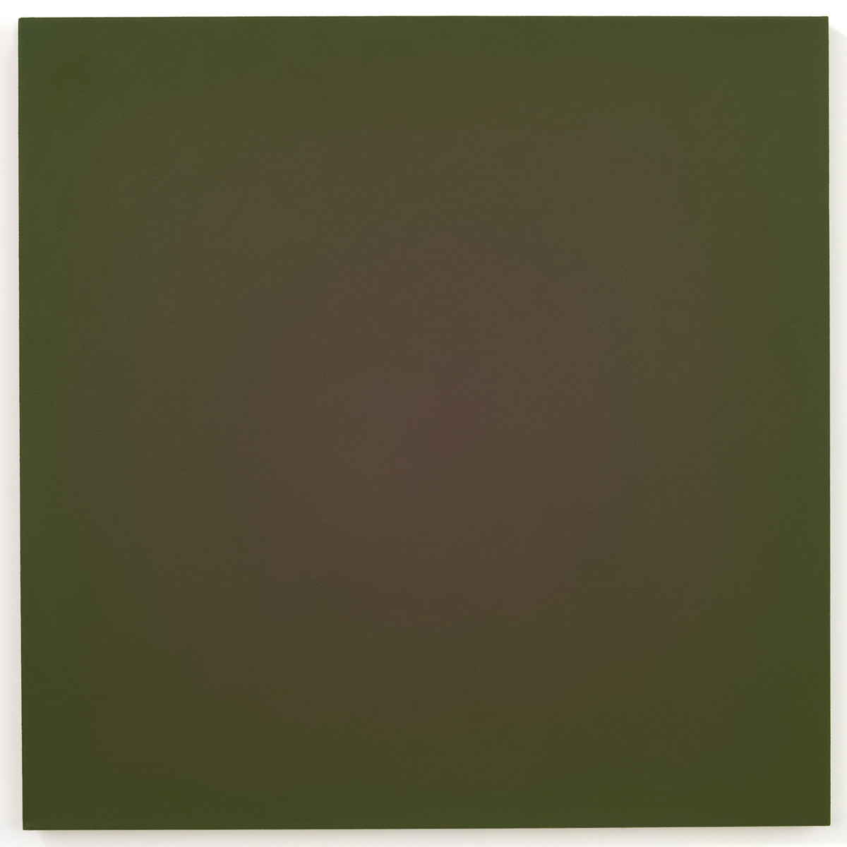 Desert Time (Red Green), Chance Rays Series, 1995, oil on canvas, 28 x 28 in. (71 x 71 cm.)