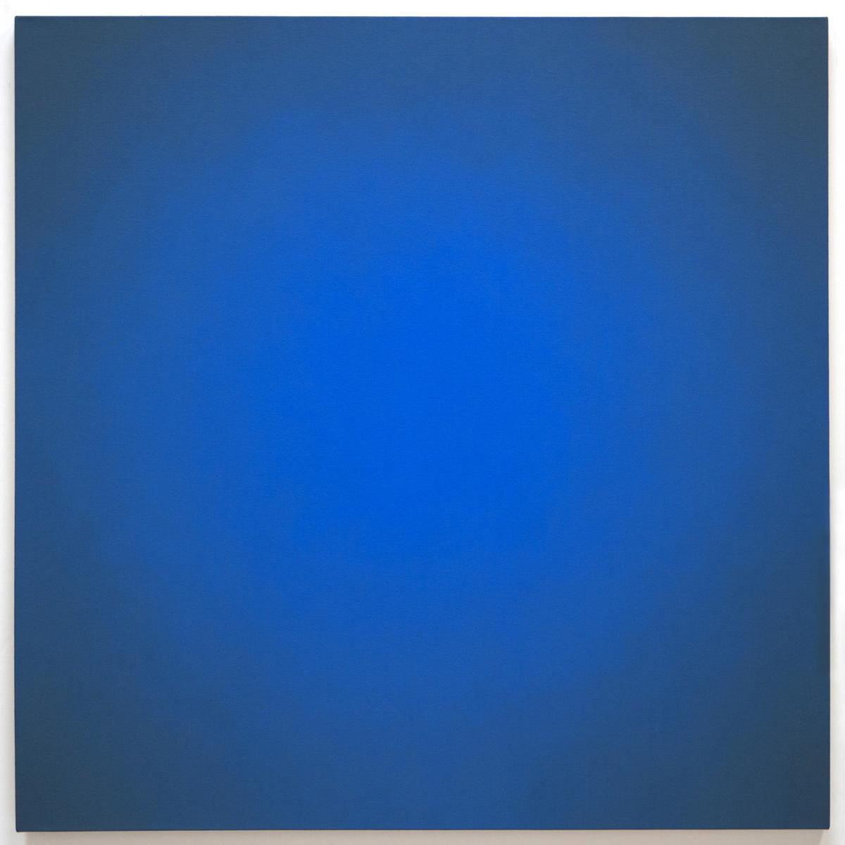 Blue Orange #4 (Orange), Equivalence Blue Orange Series, 2005, oil on canvas, 30 x 30 in. (76 x 76 cm.)