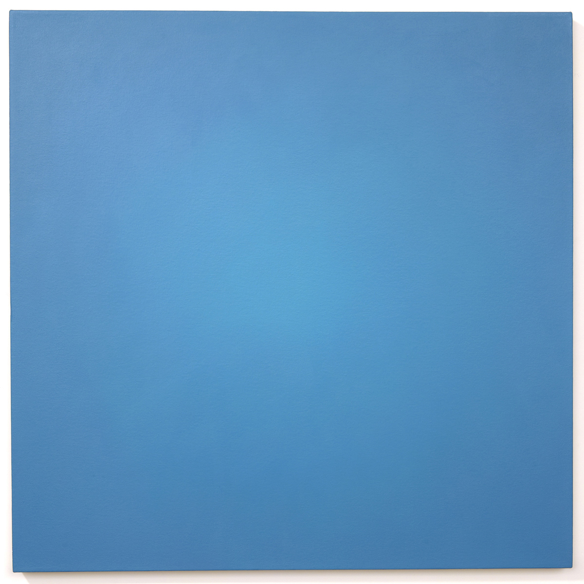 Legacy (Blue Orange), Ray Painting #1, 1997, oil on canvas, 30 x 30 in. (76 x 76 cm.)