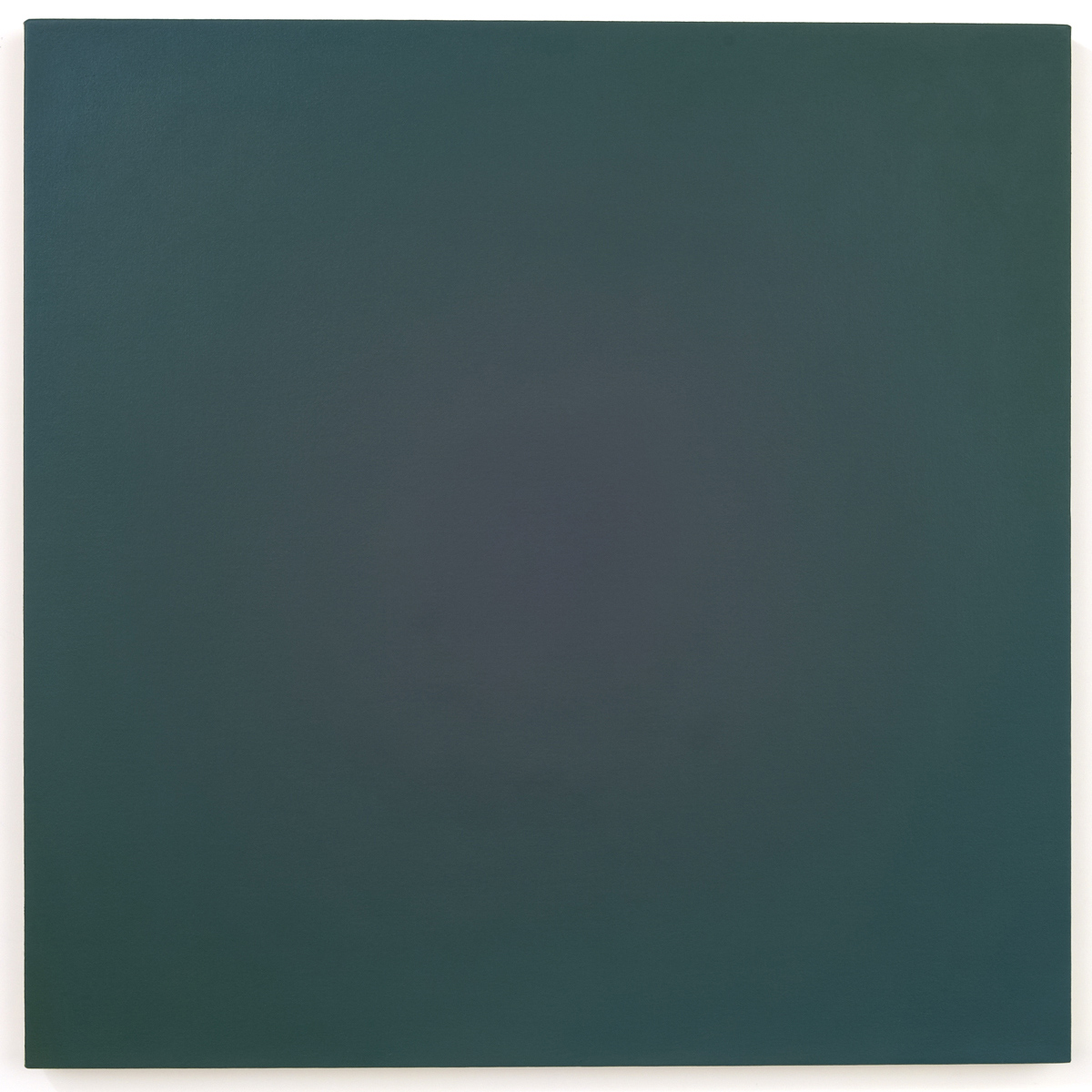 Night Shades (Red Green), Chance Rays Series, 1995, oil on canvas, 28 x 28 in. (71 x 71 cm.)